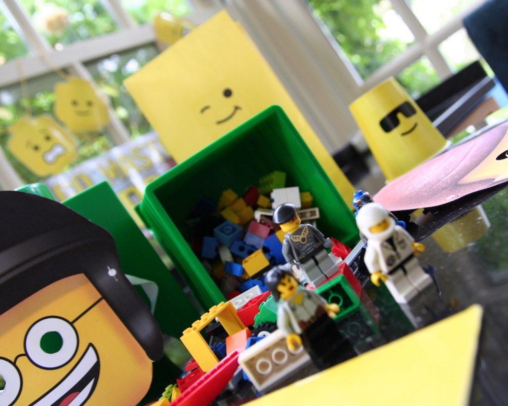 Lego Birthday Party Set
