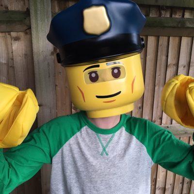 Lego City Party Mask