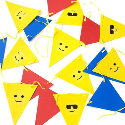 Lego Party Bunting