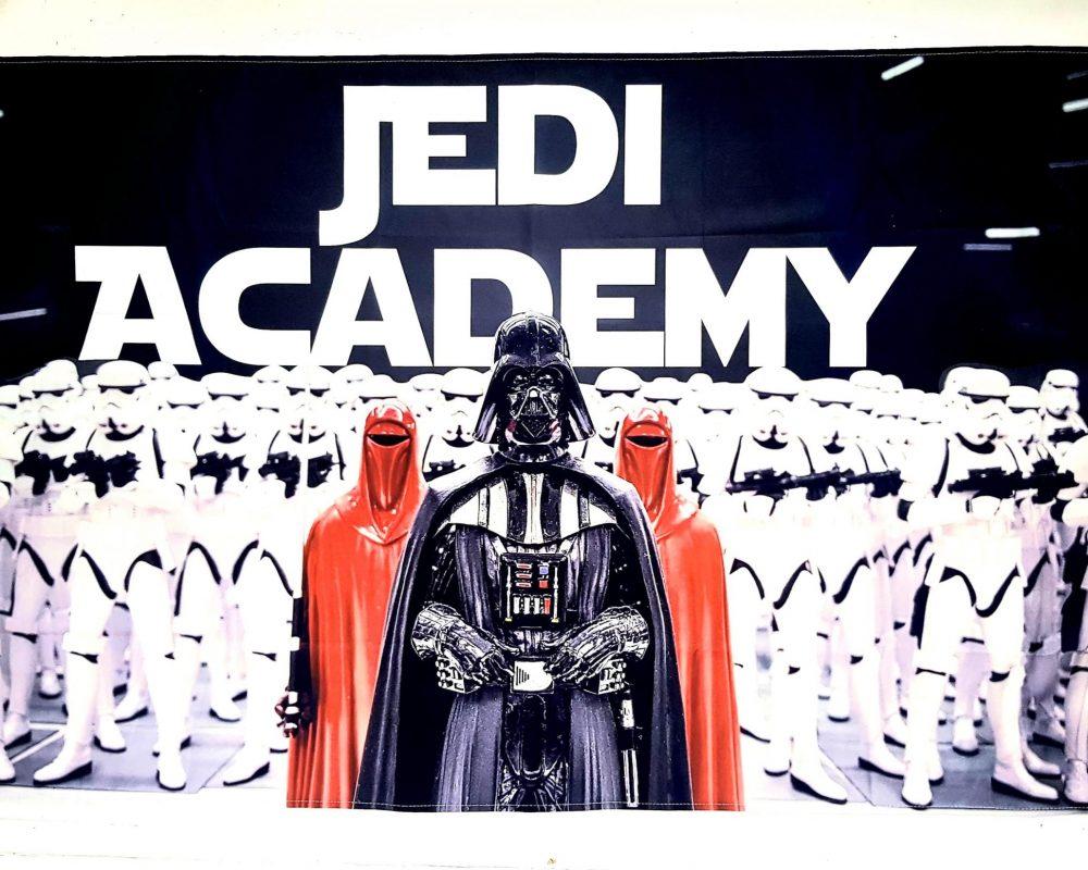 Star Wars Jedi Academy Banner