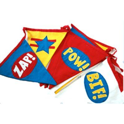 Superhero Party Bunting