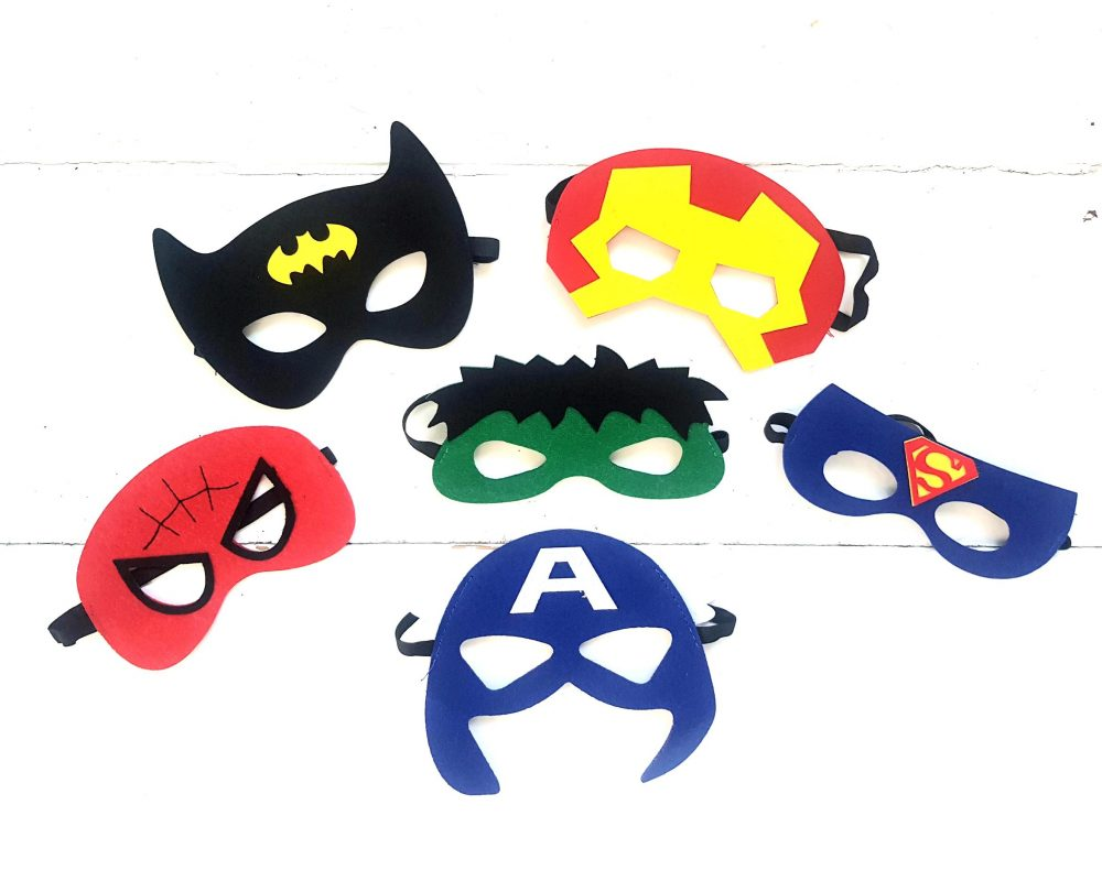 Superhero-Party-Masks