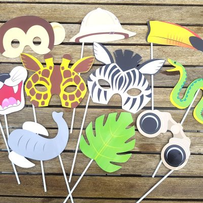 Jungle Party Props