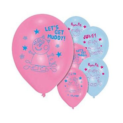 Peppa Pig Party Balloons
