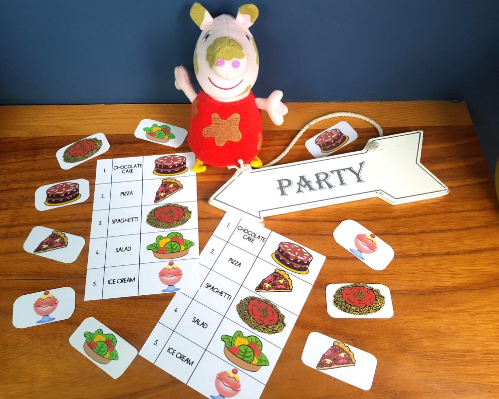 Peppa Pig Party Shopping Game