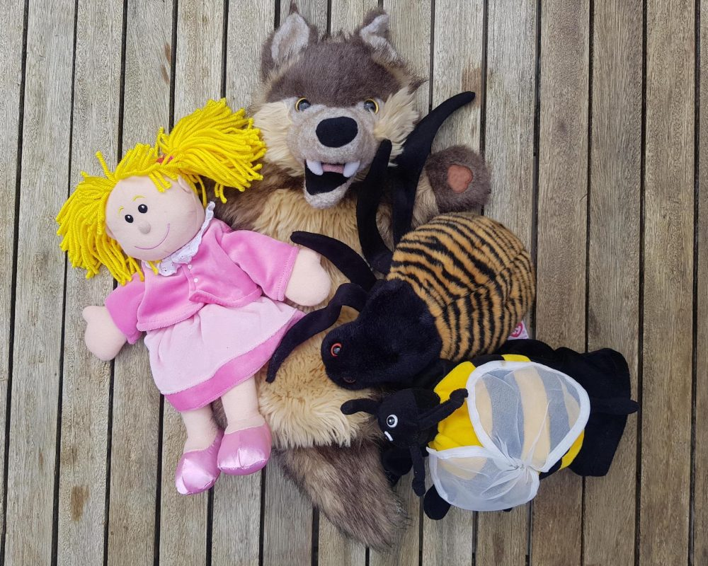 Toddler Party Puppets