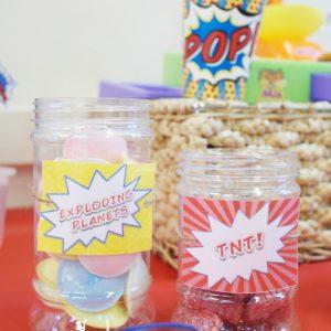 Superhero Party Sweets