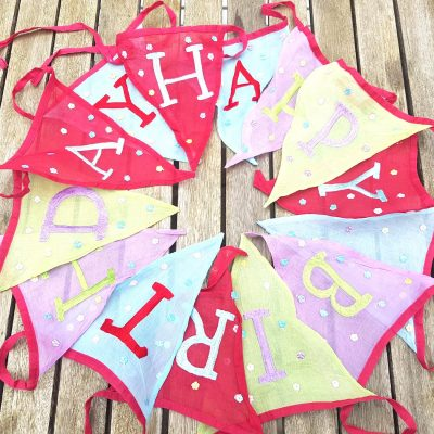 Toddler Party Bunting